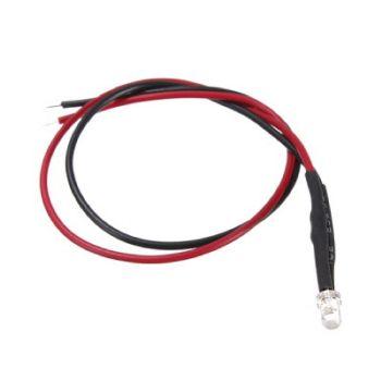 3mm RGB Red/Green/Blue Flashing LED - 12v DC